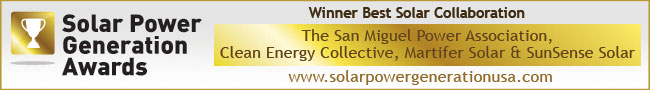 Best Solar Collaboration Award