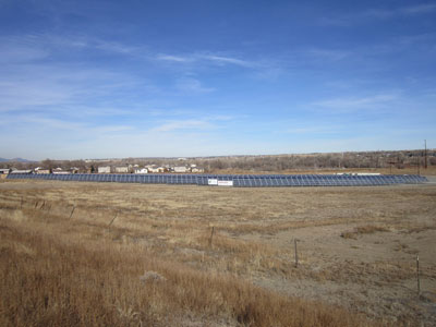 Colorado Springs Community Solar Array