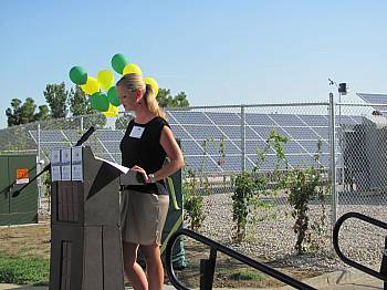 PVREA Community Solar Farm Dedication